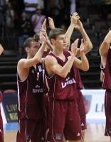 Latvijas U-20 basketbolisti piekāpjas Igaunijas studentu izlasei