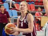 U-18 basketbolistes gūst otro pārliecinošo uzvaru