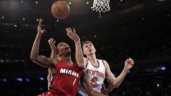 «Knicks» nespēj revanšēties «Heat»; Porziņģim priekšlaicīgi noslēgta spēle