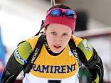 Biatloniste Bendika sensacionāli izcīna 5.vietu PK posma sprinta distancē
