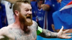 Islandes izlases kapteinis: Esmu lepns vikings