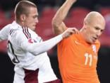 Latvijas izlases futbolists Kurakins pārtraucis līgumu ar Skotijas augstākās līgas klubu