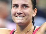Sevastova uzvar ASV tenisisti Risku, sasniedzot prestižā Dubaijas turnīra astotdaļfinālu
