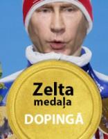 Putins: Krievijā nav bijis, nav un nebūs valsts atbalsta dopingam