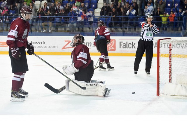 Latvijas U-18 hokeja izlase