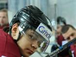 Nosaukts hokeja izlases sastāvs pirmajai spēlei ar Vāciju