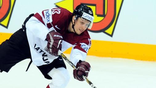 Pirmspēdējā pārbaudes spēle hokejā: Latvija - Vācija
