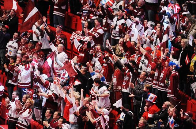 Latvijas hokeja fani