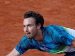 Gulbis ļoti svarīgajā «French Open» arī otrajā setā piekāpjas Čiličam