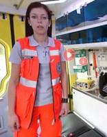 Virtuālā tūrē aicina apskatīt ātrās palīdzības mašīnu