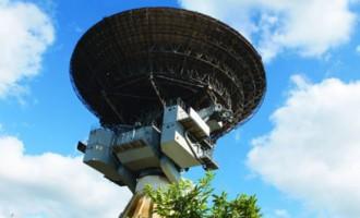 Modernizēšanai nocels 100 tonnu smago Irbenes radioteleskopa antenu