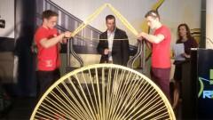 RTU komanda uzvar PČ spageti tiltu konstruēšanā