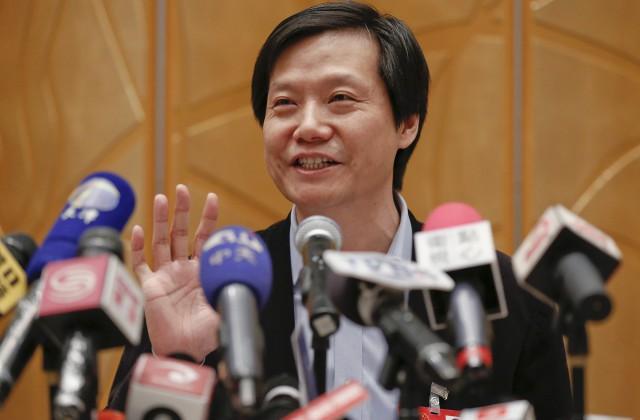 """Ķīnas viedtālruņu kompānijas """"Xiaomi"""" dibinātājs un vadītājs Lei Juns"""