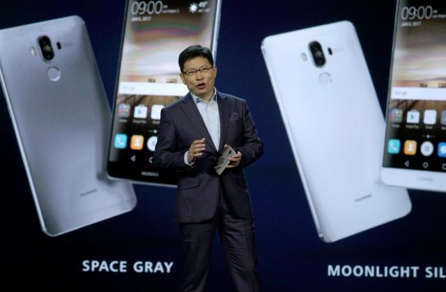 Huawei Consumer Business Group izpilddirektors Ričards Ju