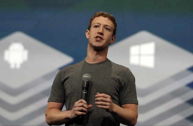Portāla «Facebook» dibinātājs Marks Cukerbergs