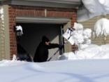 ASV pēc sniega vētrām draud plūdi