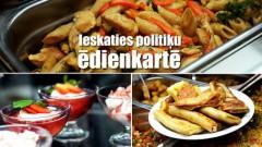 Ko ēd Saeimas deputāti? Cik veselīgas ir viņu maltītes?