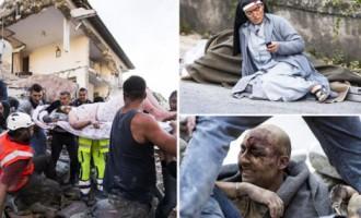 Zemestrīcē Itālijā ir cietušie un bojā gājušie