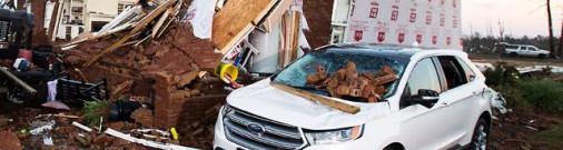 Vētrās ASV dienvidaustrumos 18 bojāgājušie