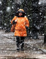 Trešdien no rietumiem virzīsies sniegputenis