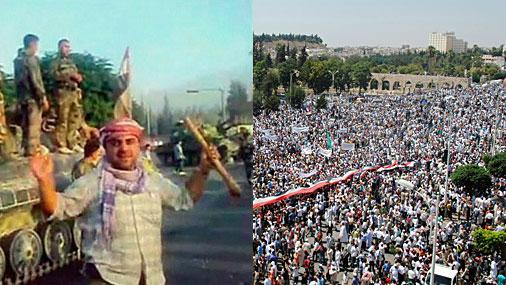 Sīrijas pilsēta Hama, 31.jūlijs