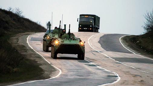 Krimā iebrauc Krievijas karaspēks. 2014. gada 4. marts