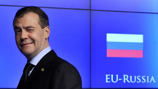 Krievijas prezidents Dmitrijs Medvedevs