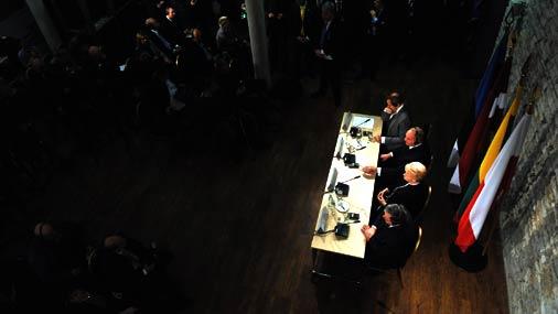 Baltijas valstu un Polijas prezidenti. 2.decembris, 2011