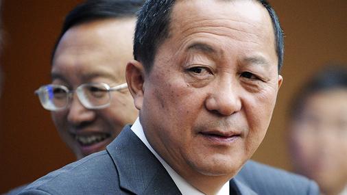 Ziemeļkorejas kodolsarunu delegācijas vadītājs Ri Jongho