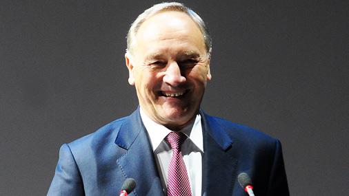 Prezidents Andris Bērziņš