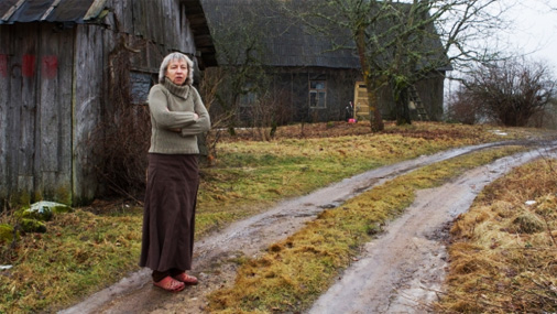 Pokaiņu meža gide Anita Biseniece. Foto: Andris Arhomkins