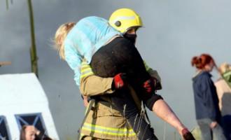 Lidostā «Rīga» vērienīgas ārkārtas situācijas mācības