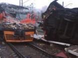 Maskavas pievārtē nozog vilcienu un izraisa dzelzceļa avāriju