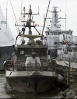 Daļa Zviedrijas karakuģu atgriezusies ostā