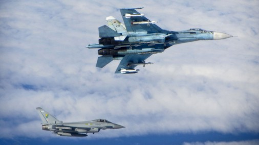Šonedēļ Latvijas tuvumā konstatētas sešas Krievijas armijas lidmašīnas