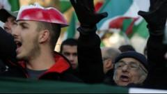 Romā tūkstošiem cilvēku protestē pret plāniem reformēt darba tirgu
