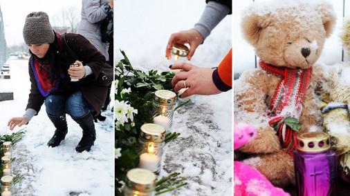 Zolitūdē emocionālā gaisotnē noticis piemiņas brīdis traģēdijas upuriem