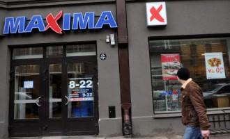 Arestē «Maxima Latvija» piederošo loģistikas centru un septiņus veikalus