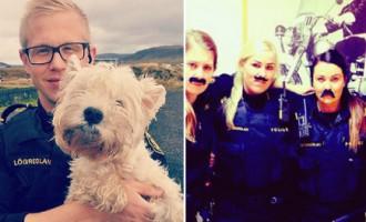 Pozitīvie Islandes policisti - katras valsts likumsargiem šādu ikdienu!
