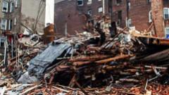 Ņujorkā gāzes eksplozijā sagrautā nama drupās  divi bojāgājušie