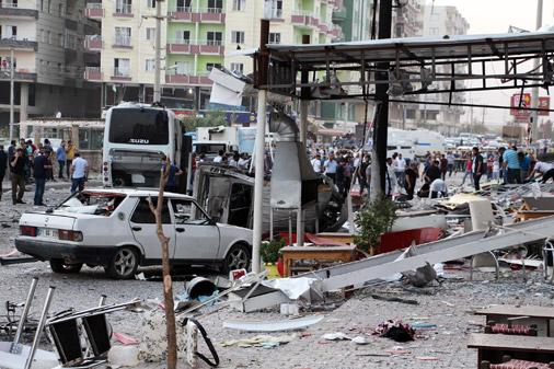 Sprādziens Mardinā