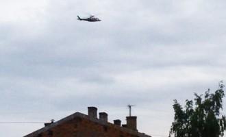 Rīdzinieki satraukušies par aizdomīgi aktīvu helikopteru