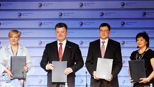 Parakstīts memorands par € 1,8 miljardu palīdzību Ukrainai