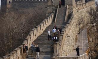 Lielais Ķīnas mūris pamazām izzūd