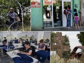 Fotostāsts: Krievijas draudzības cena - skarbā dzīve neatzītajā Dienvidosetijā