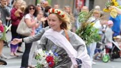 Policija pārbaudīs bērnu tiesību pārkāpumus Skolu dziesmu un deju svētkos