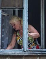 Prasa izvākties no avārijas stāvoklī esošas mājas; iedzīvotāji šokā