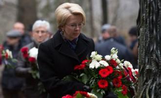 Mūrniece: līdz pat šodienai neaptverams ir lielākais genocīda noziegums Latvijā