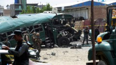 Pret policiju vērstā sprādzienā Kabulā nogalināti 27, ievainoti 40 cilvēki