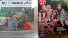 Neizprotami: Divas atšķirīgas bēgļu ģimenes, bet viens un tas pats bērns?